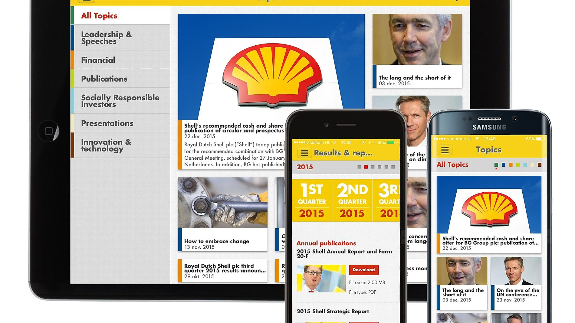 Shell Presseinformationen