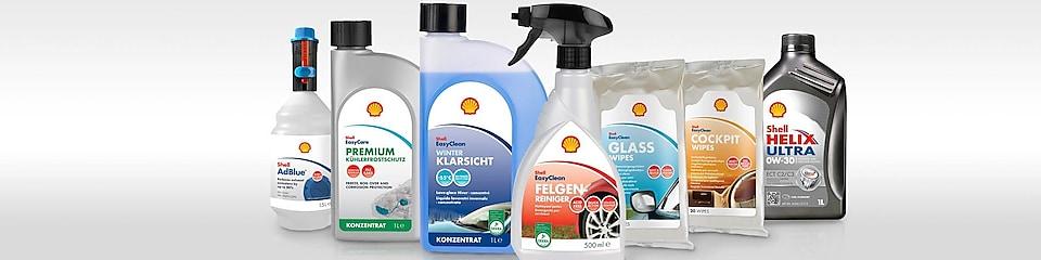 Das Shell Autopflege Sortiment – schnell und zuverlässig