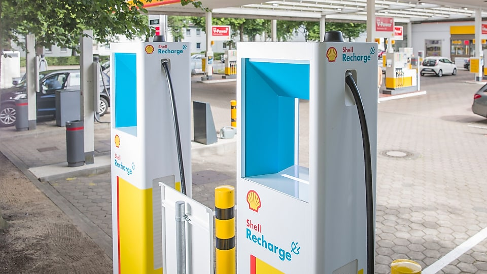 Shell Recharge Ladesäule
